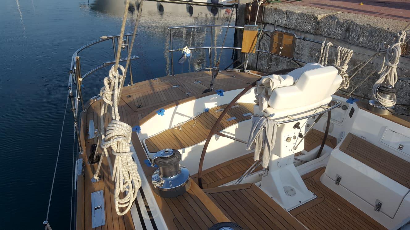 refitting barca a vela