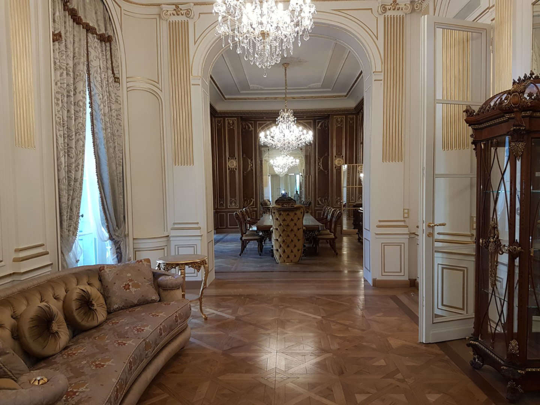 allstimento interno - foto Parigi